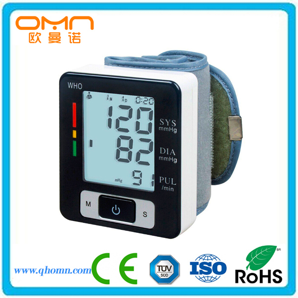 Doctor Recommended Best BP Measuring Devices High Blood Pressure Symptoms Indicating Machine Wrist Type Medical Sphygmomanometer