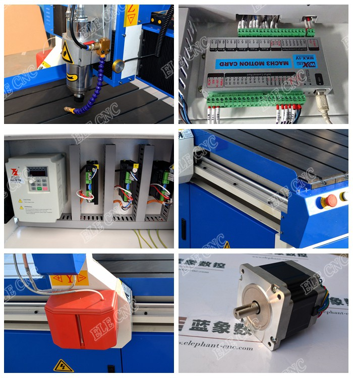 ELE 6090 advertising cnc machine mini router made in Shandong China for wood furniture, MDF, PVC, PCB, ACRYLIC