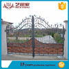 iron fancy gate boundary wall gate design/Beautiful Residential Wrought Iron Gate Designs Wrought Iron Main Gates Models Metal
