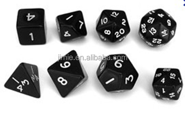 high quality polyhedral rpg dice