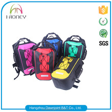 30L best wholesale Lightweight Travel waterproof dry bag backpack for camping hiking boating