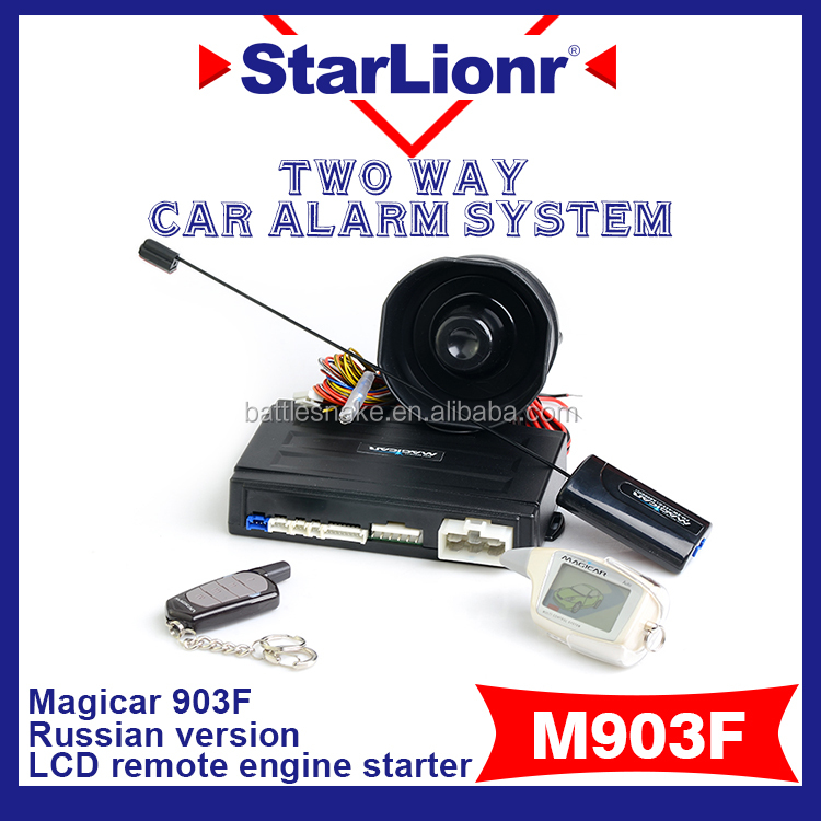 Magicar Car Alarm Security Remote Engine Start carro a control remoto