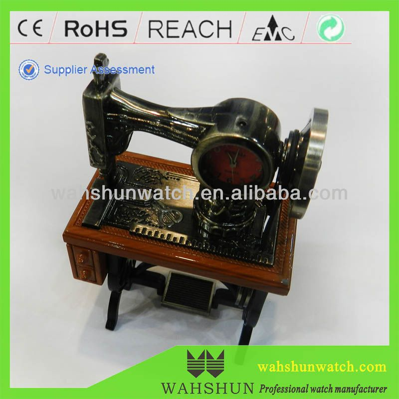 Homdecor craft mini antique model metal sewing machine