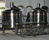 Free Installation 1000L Beer Factory Brewing Machine Craft Beer Brewery Machine on Sale