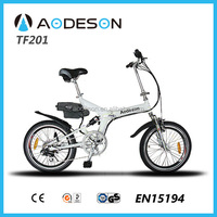 folding electric bike 250w TZ201 used electric bicycle motor hot long distance electric bicycle