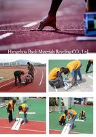 Synthetic Rubber Running Track, Rubber Running Track Material