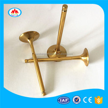 For SENKO SUKIDA SENCO HAOJUE HAOJIANG HAOJIN custom surface motorcycle engine valves for sale