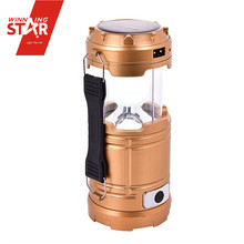 Electric Lantern Lamp Solar Rechargeable Camping Lantern Solar