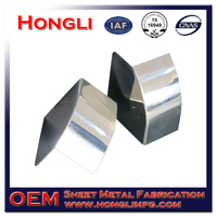 OEM Stainless Steel Sheet Metal Fabrication Polished Lamp and Light Cover and Shade