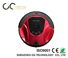 Smart Colorful LCD and Voice Home Good Robot Vacuum Cleaner with Brush Working