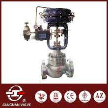 Cage-guided Control Valve CF8 Stainless Steel 600LB Flange Pneumatic