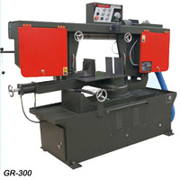 GR-330 angle cut 45 degree metal band sawing machine