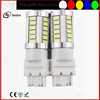 Best quality white 6000K red car auto 3157 led brake light bulb t25 led rear tail light 33pcs 5630 smd