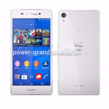 PET super clear Screen protector guard film for Sony Xperia Z3v