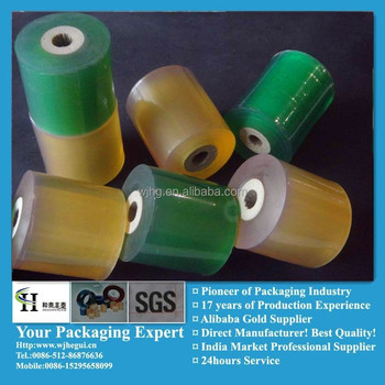 easy peel of plastic pvc packaging film
