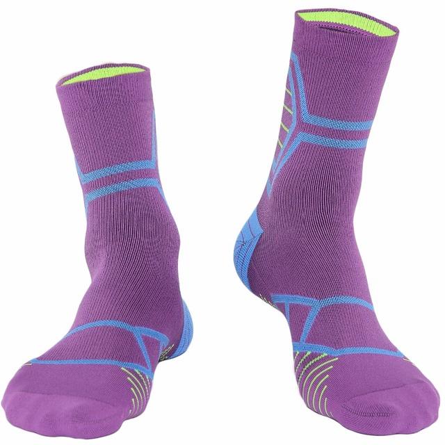 Hot sales outdoor sport professional elite multifunction breathable stink prevention knee high towel bottom men socks