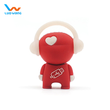Promotional usb flash drive ,little figurine usb flash drive, music usb flash drive