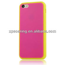 Cellphone soft silicone case for iphone 5C