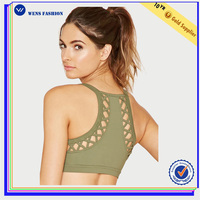 Hot Sale Seamless vest Bra Gym Yoga Wear Girls Sexy Image Bras