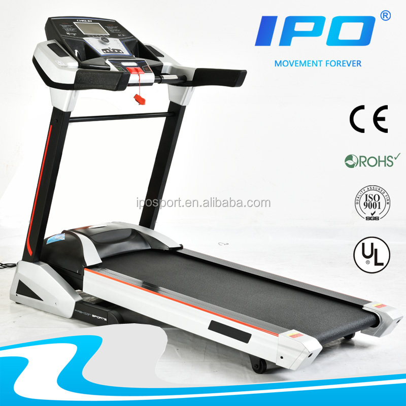 gym equipment dc treadmill motor with massager and twister