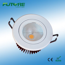 9W COB juno led downlight with 72 mm cut out