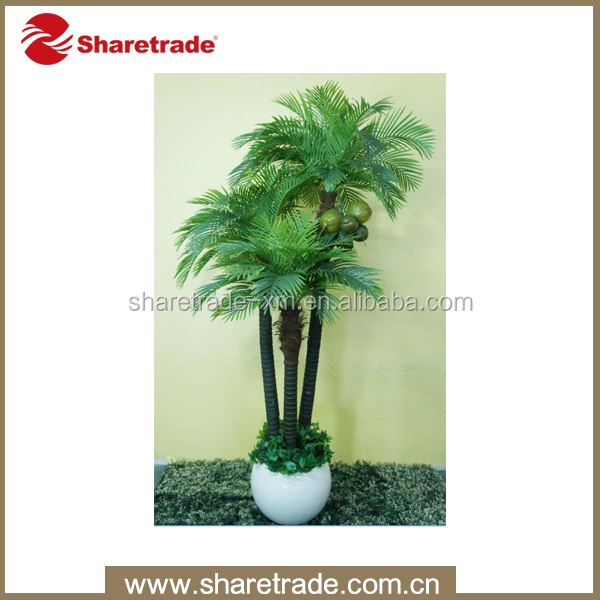 high quality decorative artificial coconut tree leaves