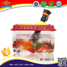 plastic goldfish bowl magnifier, toys for child