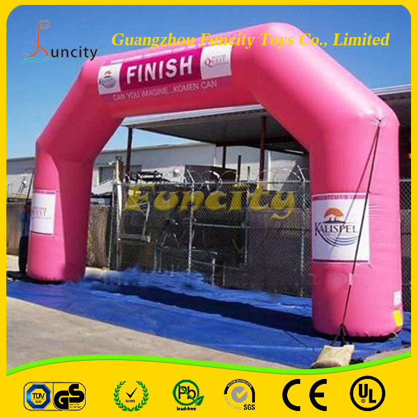 Outdoor inflatable decoration arch/christmas inflatable arch/inflatable wedding arches