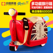 scooter luggage,kids scooter suitcase,new best kids suitcase scooter 822-217