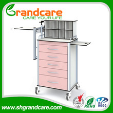 G-TA002 Medical Dressing Trolley with 600kg per cart high loading bearing