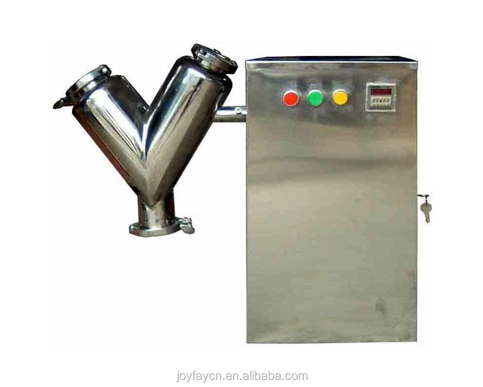 Mini V Type Powder Mixer Mixing Machine 2L 110V