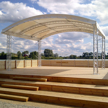 Aluminum Stage Lighting Truss Concert Roof Truss System