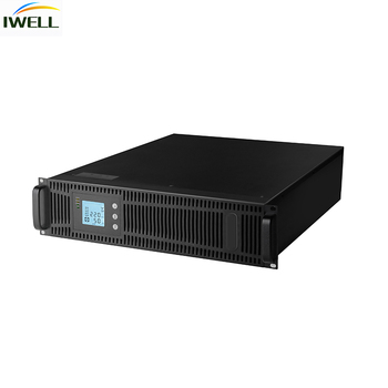 19 inch 3U 6KVA High Frequency Rack Mount UPS