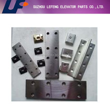 Elevator fish plate for guide rail|Elevator spare parts