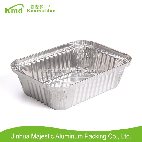 RFF185 700 ML Kitchen use Rectangular loaves containers aluminium foil container