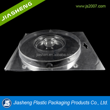 Transparent CD Packaging Disposabe Plastic Packaging