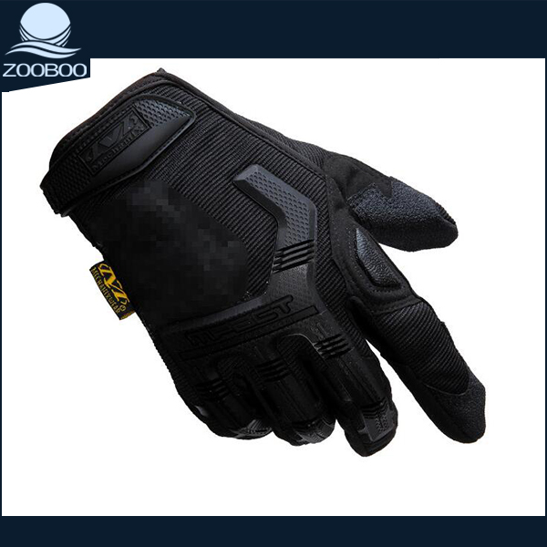 Anti-shock Full finger Microfiber Motorcycle Motocross Gloves motorbike glove