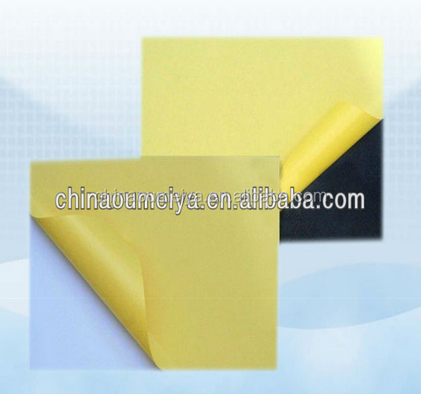 top quality album making material white or black adhesive album pvc sheet