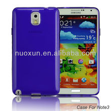 Wholesale for newest 2014 samsung galaxy note 3 tpu case