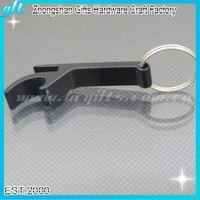 Hot sale promotional item !!Fashion Black Metal Bottle opener key chains Printing custom logo Opener keyring bottle opener