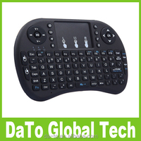 Free Shipping 10pcs Portable i8 Mini Wireless Keyboard with Touchpad for Android TV BOX