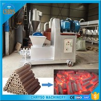 Energy saving 400-600kg/h high quality coal | charcoal briquette making machine