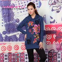 2015 design ladies pullover sweater women hoodies 80 cotton 20 polyester wholesale