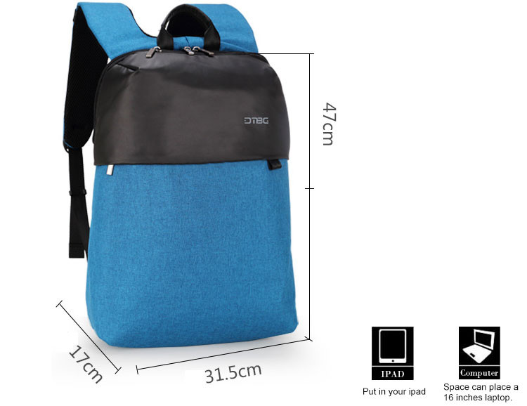 super brightness travelling Korean style canvas backpack