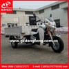 China motorized reverse trike/electric tricycle for cargo/gas scooter