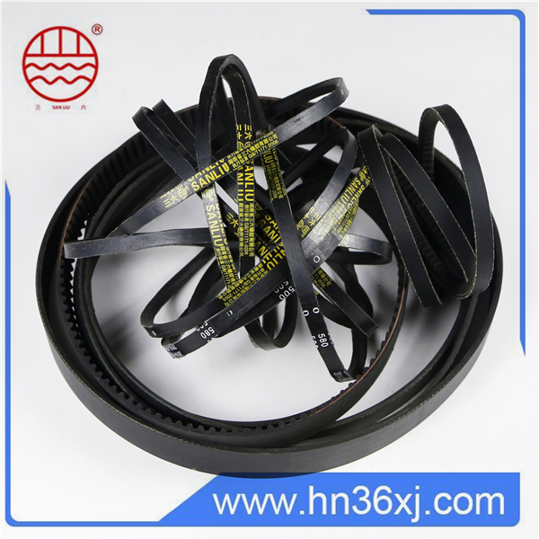 Heat resistant stretch classical rubber v belt