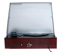 Rain Lane Professional 3 Speed Turntable RCA line Input Output Best Portable Turntable With Speakers