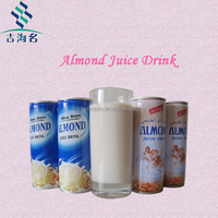 ISO certificate almond nut nutrition beverage