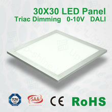 300X300 600X300 Dimmable Square Ceiling Lamp Led Panel Recessed Down Lights Warm Cool White color SMD2835