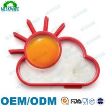 Best quality factory manufacture silicone rubber fried egg cooker